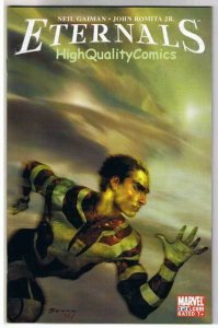 ETERNALS #3, VF+, Neil Gaiman, John Romita, 2006, more Gaiman in store