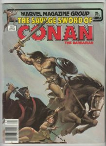 Savage Sword of Conan # 85 Strict NM- Artist Gil Kane masterpiece.