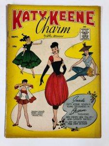 KATY KEENE CHARM  GOOD+  Bill Woggon  1958 young designers