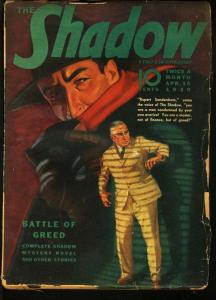 SHADOW 1939 APR 15-STREET AND SMITH PULP-RARE VG