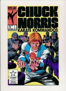 Star Comics CHUCK NORRIS Karate Kommandos #1 F/VF (PF942)