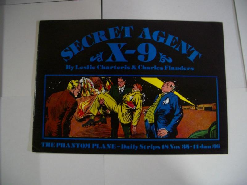 SECRET AGENT X-9 11/18/35-01/11/36 REPRINTING FLANDERS VG