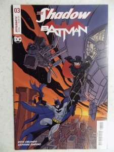 SHADOW/BATMAN # 3 DC DYNAMITE