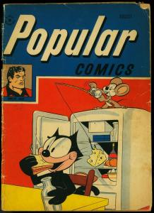 Popular Comics #138 1947- Terry & the Pirates- Felix the Cat Golden Age G