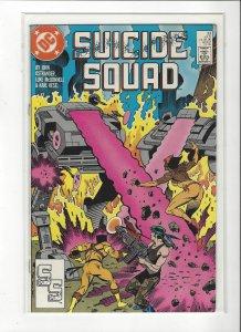 Suicide Squad #23 1989 DC Comics Copper Age  NM