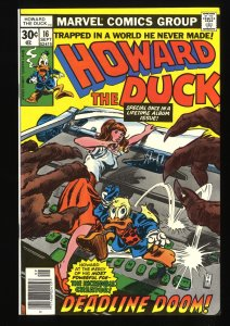 Howard the Duck #16 NM+ 9.6
