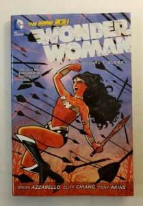 WONDER WOMAN VOL.1 BLOOD NEW 52 HARD COVER GRAPHIC NOVEL DC NM