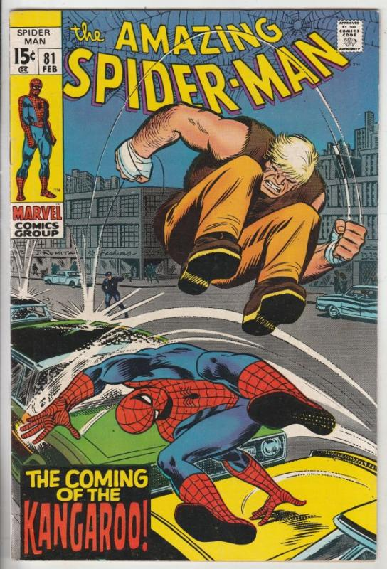 Amazing Spider-Man #81 (Feb-70) NM- High-Grade Spider-Man