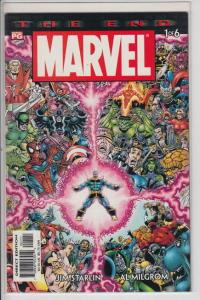 MARVEL THE END 1 2 3 4 5 6 COMPLETE 1-6 SET FULL RUN AVENGERS FF THANOS NM æ