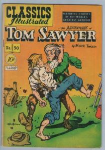 Classics Illustrated 50 (original) Aug 1948 VG+ (4.5)