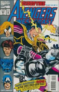 Marvel AVENGERS WEST COAST #101 FN/VF