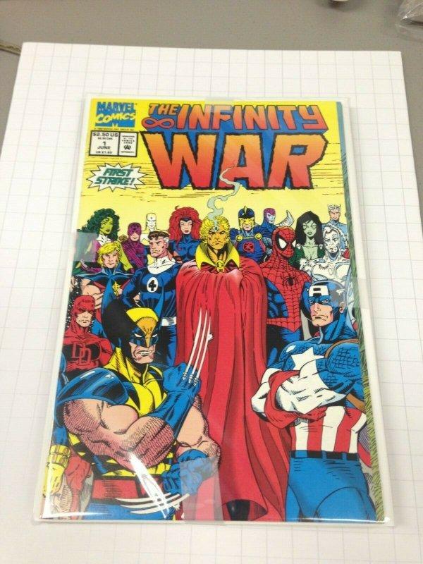 infinity War 1-6  set Avg. grade NM