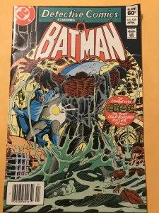 Detective Comics #525 :DC 4/83 Fn/VF; Killer CROC Vs Bats