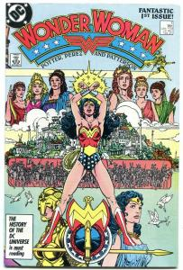 Wonder Woman #1 1987 - NEW ORIGIN- George Perez F/VF