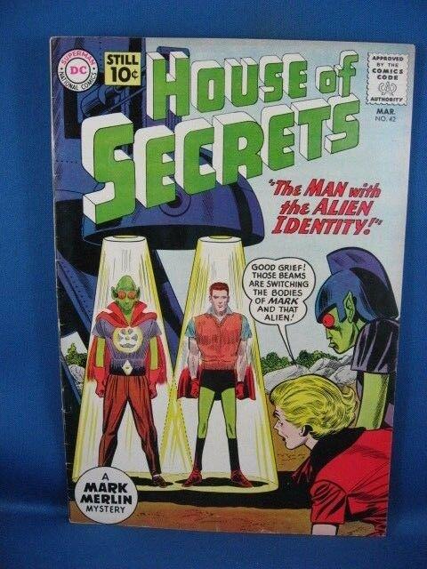 House of Secrets #42 (Mar 1961, DC) F+