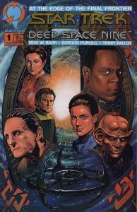 STAR TREK DS 9  (1993 MA) 1,1(Photo cvr),2-32, ANN 1