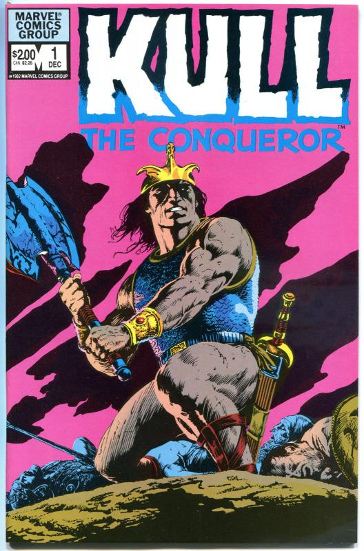 KULL the CONQUERER #1 2, 1 2 3 4 5 6-10, NM, 1982, 1983, Robert Howard, 12 iss