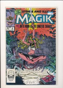 Marvel Storm & Illyana MAGIK #4   F/VF(SIC626)