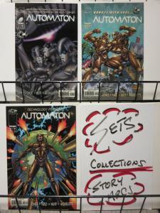 AUTOMATON (1998 IM) 1-3  the complete series