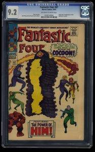 Fantastic Four #67 CGC NM- 9.2 Off White to White 1st HIM / Warlock!