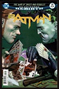 Batman #28 Rebirth (Oct 2017, DC) 0 9.4 NM