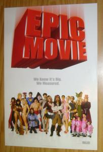 Epic Movie poster - 13.5 x 19 - kal penn - carmen electra - jennifer coolidge