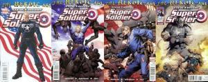 STEVE ROGERS SUPER SOLDIER (2010) 1(2ndPt),2-4 COMPLETE