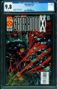 Generation X #3 CGC 9.8 1st Mondo 1st Cordelia Frost 2085322003