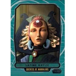 2012 Topps Star Wars Galactic Files SATINE KRYZE #239