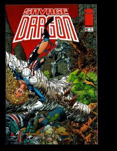 12 Savage Dragon Image Comics # 21 34 35 36 38 39 40 41 44 46 47 48 Hellboy EK10