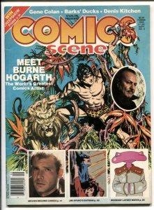 Comics Scene #5 1982-Burne Hogarth-Gene Colon-Herbie Moebius-VG/FN