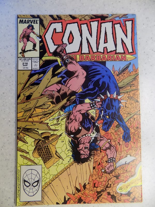 CONAN THE BARBARIAN # 216
