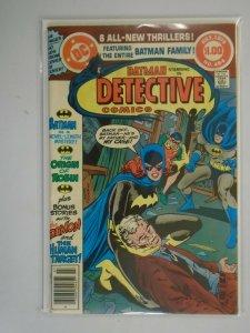 Detective Comics #484 5.0 VG FN (1979 1st Series)