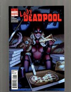 Lady Deadpool # 1 NM One Shot Marvel Comic Book X-Force X-Men Wolverine SM19
