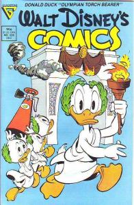 Comics and Stories, Walt Disney's #535 (Dec-88) NM/NM- High-Grade Donald Duck...