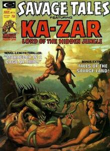 Savage Tales (1971 series) #11, Fine (Stock photo)