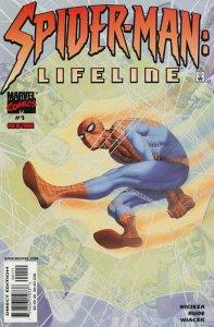 Spider-Man: Lifeline #1 VF/NM; Marvel   save on shipping - details inside