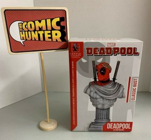 Gentle Giant Marvel Deadpool Caesar Classic Bust 1729/4000