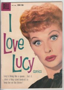 I Love Lucy #21 (Oct-58) VF High-Grade Lucy Ricardo, Ethel Mertz