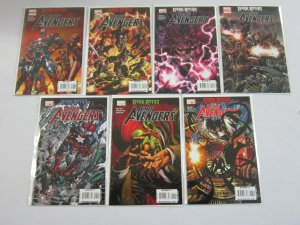 Dark Avengers lot 7 different from #1-8 8.0 VF (2009 Marvel)