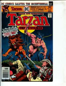 Tarzan-#251-1976-DC-BRONZE-AGE-Joe Kubert-NM-
