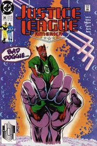 Justice League (1987 series) #36, VF- (Stock photo)