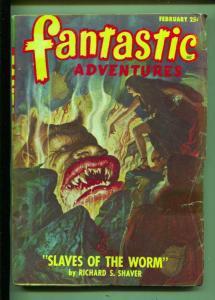 Fantastic Adventures-Pulp-2/1948-Richard S. Shaver-Rog Phillips