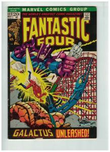 FANTASTIC FOUR 122 VG+ May 1972 COMICS BOOK