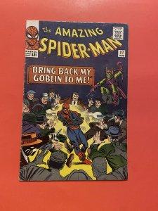The Amazing Spider-Man #27 (1965)crime master vs Green goblin