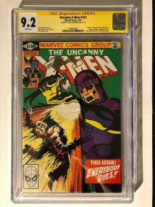 Uncanny X-Men 142- Death of Alternate Wolverine CGC 9.2 Signed by Claremont