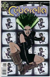 Cyberella #1 1996 Helix Comics VF+ HC1