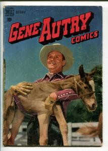 GENE AUTRY #20-1948-DELL-WESTERN-PHOTO COVERS-MOVIE-TV-good