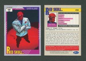 1991 Marvel Comics II  Card  #90 ( Red Skull )  MINT