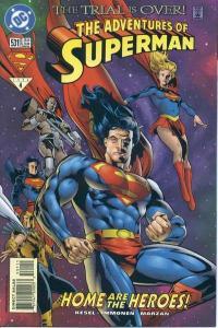 Adventures of Superman (1987 series) #531, NM (Stock photo)